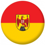 Burgenland Flag 25mm Flat Back